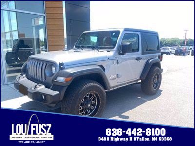 Pre-Owned 2019 Jeep Wrangler Sport S 4WD Convertible