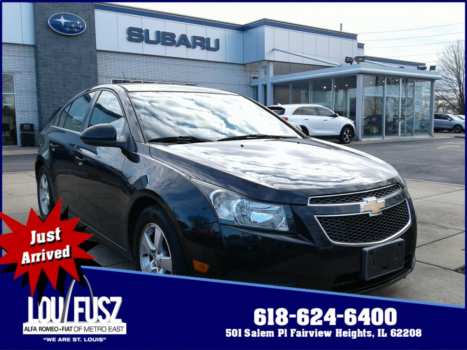 Pre-Owned 2013 Chevrolet Cruze 1LT FWD 4dr Car