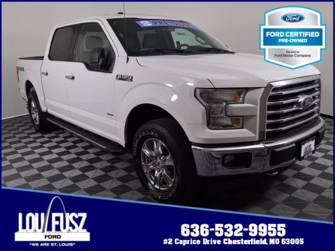 Pre-Owned 2017 Ford F-150 XLT 4WD Crew Cab Pickup