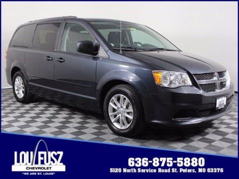 Pre-Owned 2014 Dodge Grand Caravan SXT FWD Mini-van, Passenger