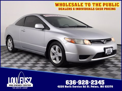 Pre-Owned 2007 Honda Civic Cpe EX FWD 2dr Car