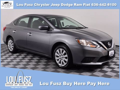 Pre-Owned 2016 Nissan Sentra S FWD 4dr Car