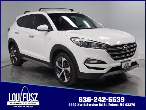 Pre-Owned 2017 Hyundai Tucson Limited FWD Sport Utility