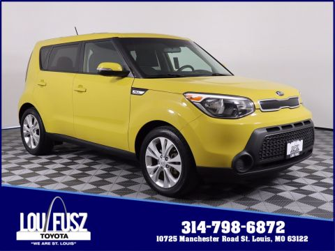 Pre-Owned 2014 Kia Soul + FWD Hatchback