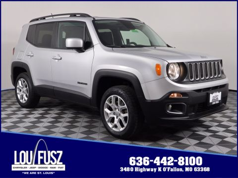Pre-Owned 2017 Jeep Renegade Latitude 4WD Sport Utility