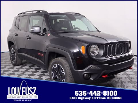 Pre-Owned 2017 Jeep Renegade Trailhawk 4WD Sport Utility